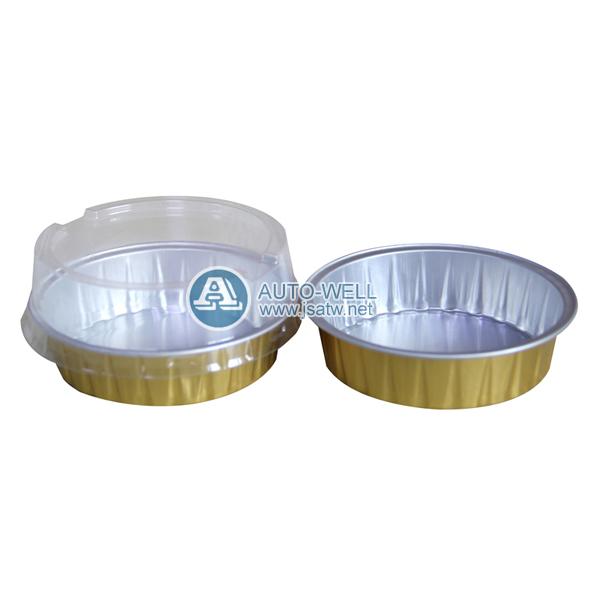 Disposable Round Aluminum Foil Cake Pans Zhangjiagang Auto